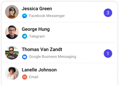 one inbox for all messaging channels