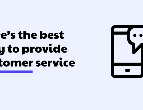 Here's the best way to provide customer service to your customers – using AI and chatbots